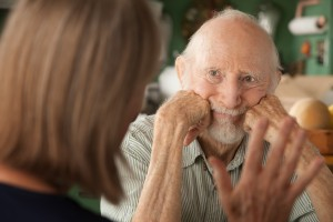involving elderly male in discussions